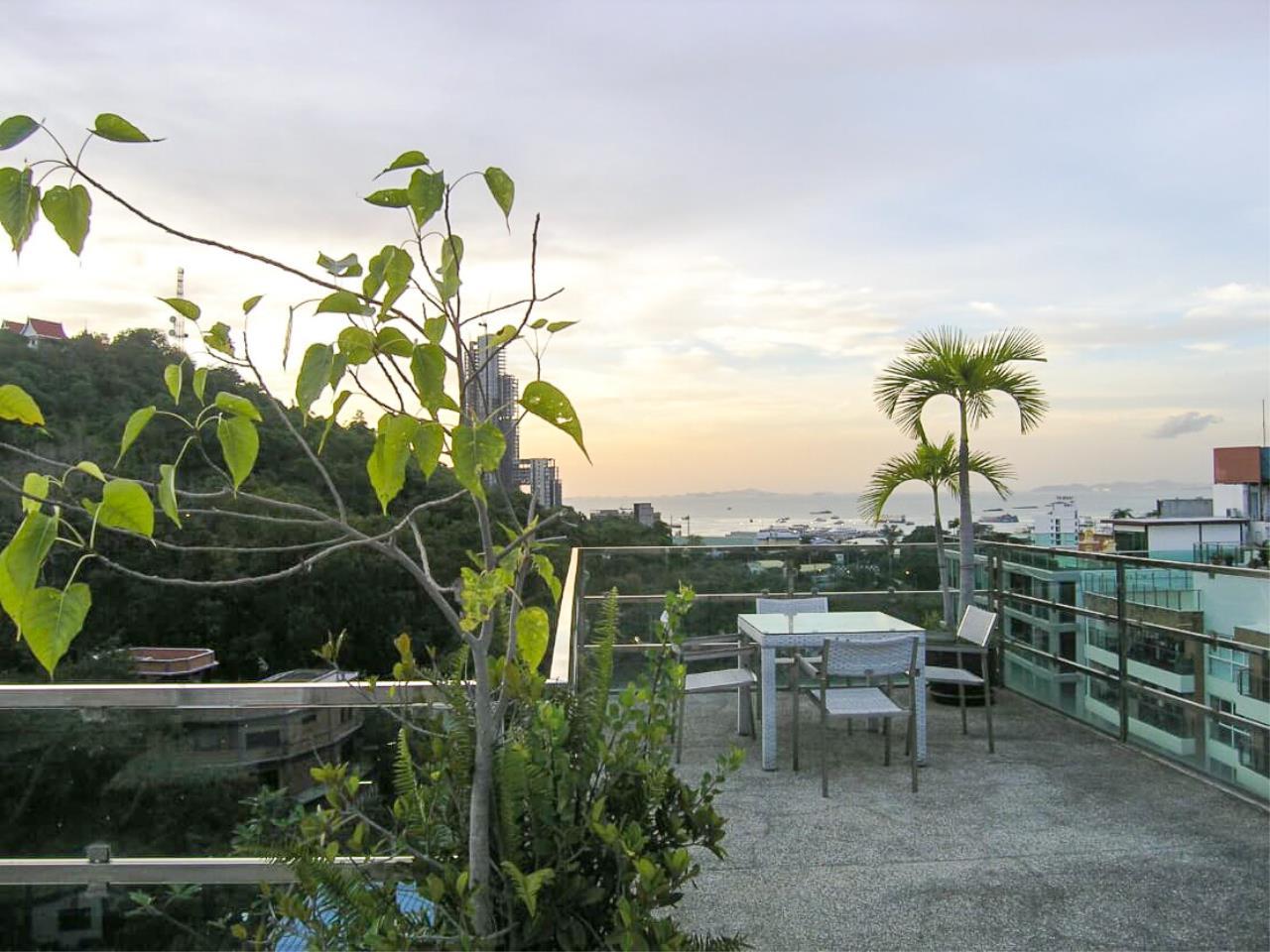 Thaiproperty1 Agency's Sea View - Penthouse Unit At Park Royal 1 - Pratamnak/Pattaya 31