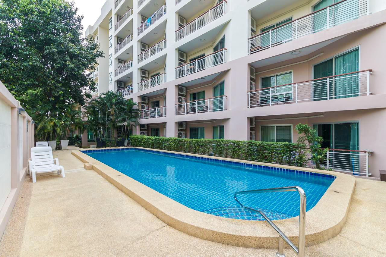 Thaiproperty1 Agency's Flametree Residence - Ground Floor One Bed Condo 1