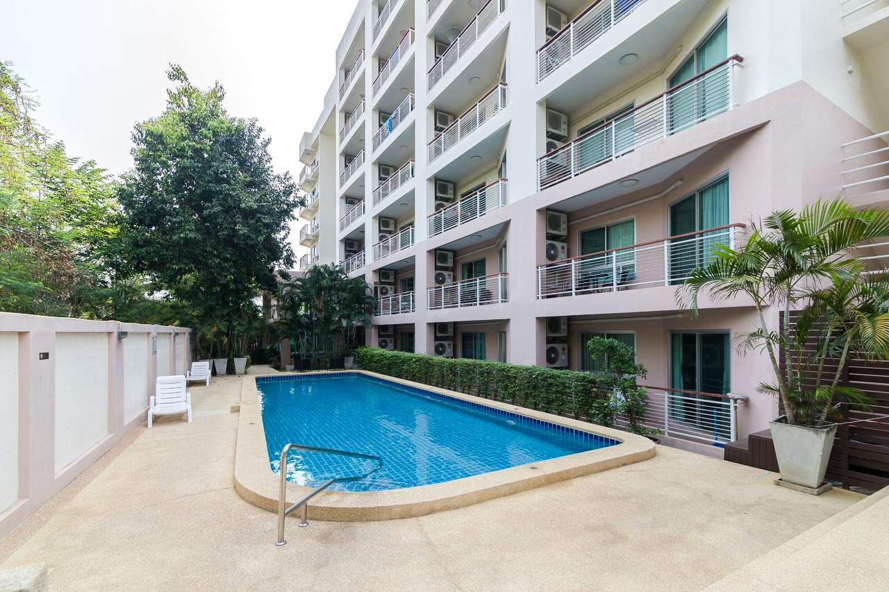 Thaiproperty1 Agency's Flametree Residence - Ground Floor One Bed Condo 15
