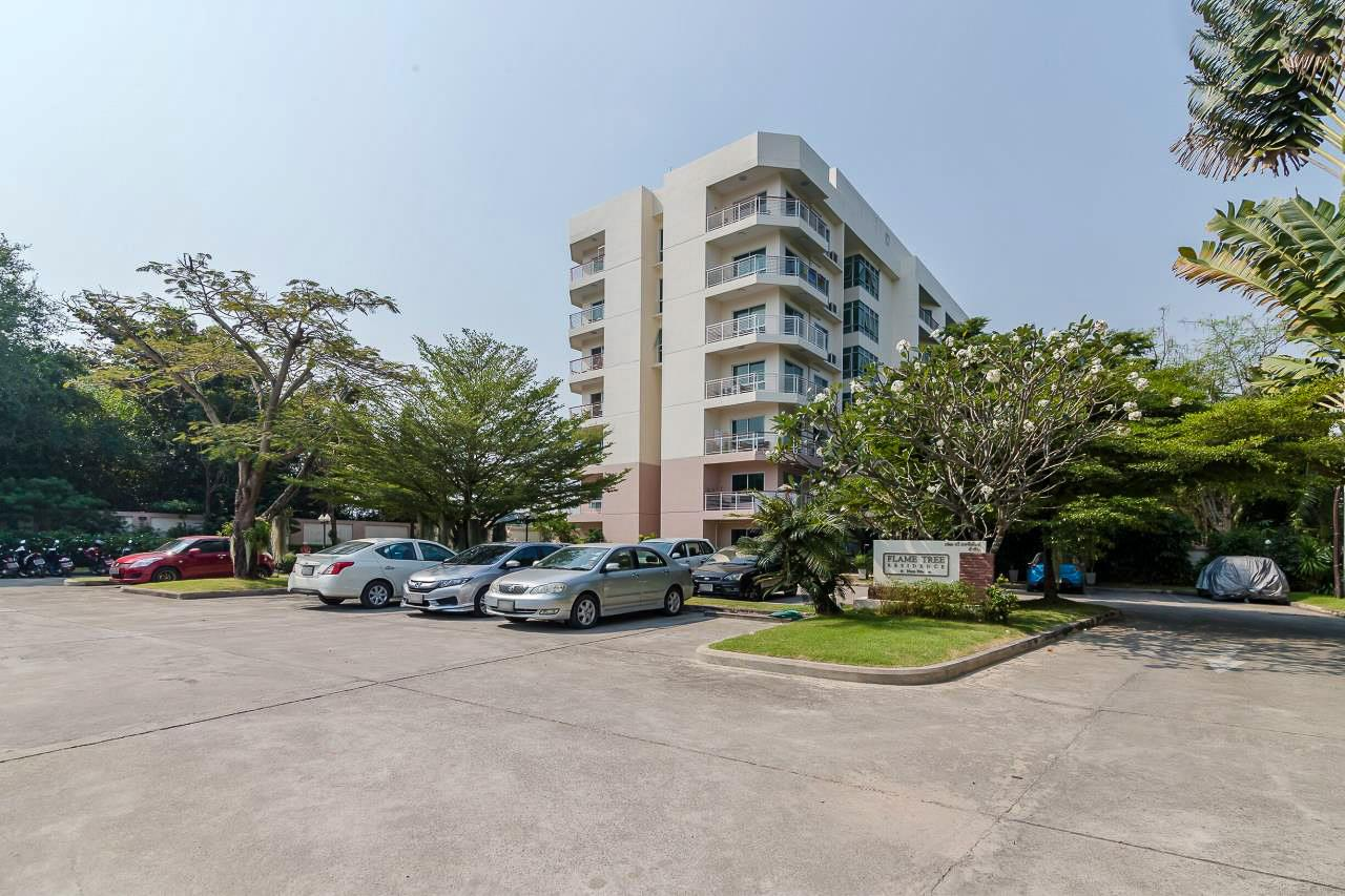 Thaiproperty1 Agency's Flametree Residence - Ground Floor One Bed Condo 21