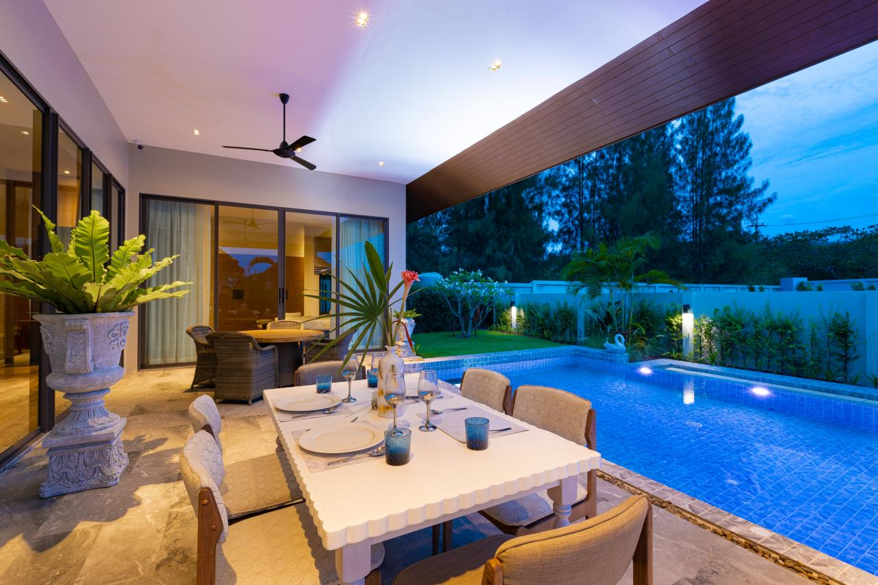 Luxury Hua Hin Property Agency's New Development - Well Designed 3 Bedroom Pool Villa  3