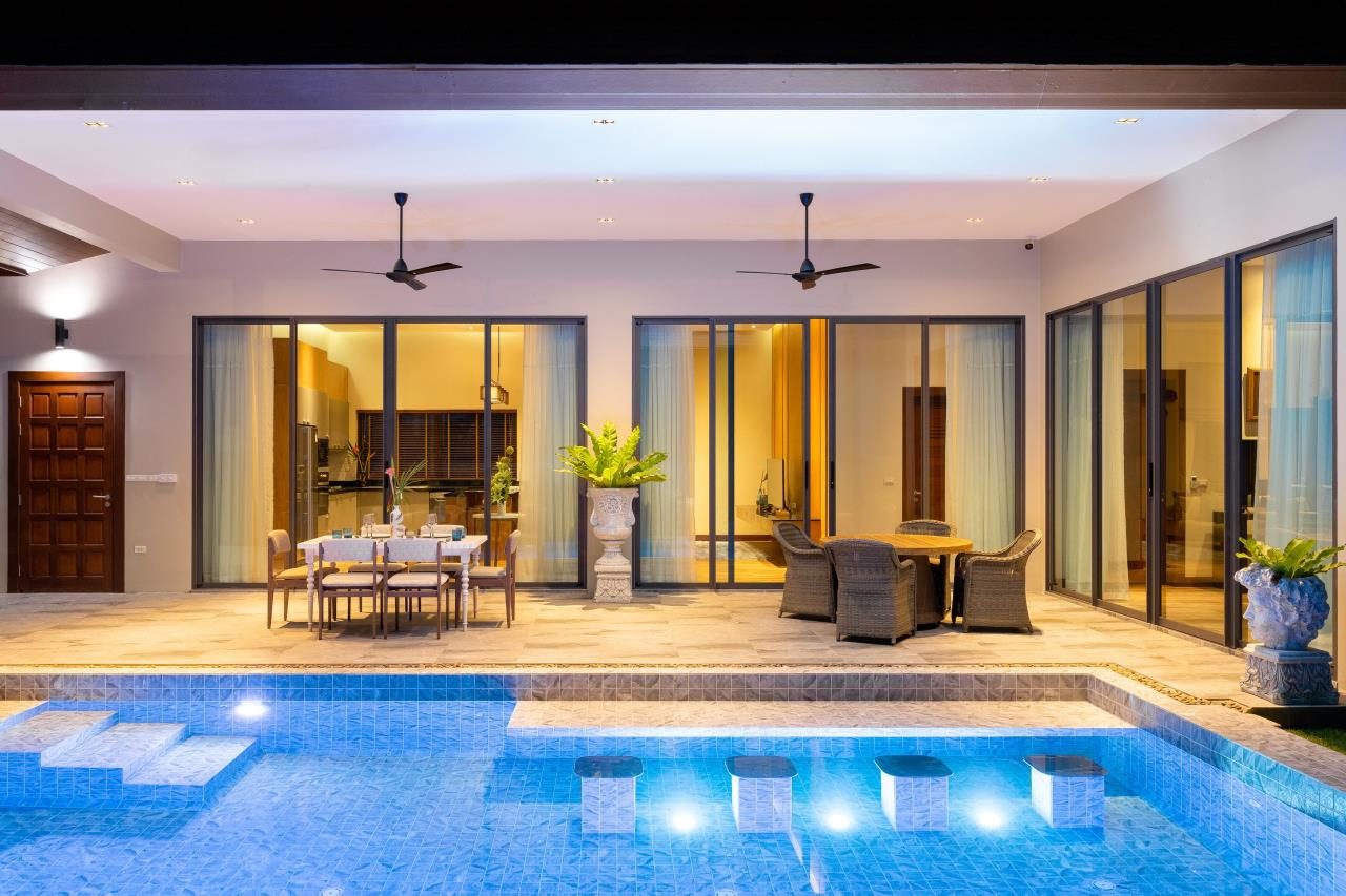 Luxury Hua Hin Property Agency's New Development - Well Designed 3 Bedroom Pool Villa  2