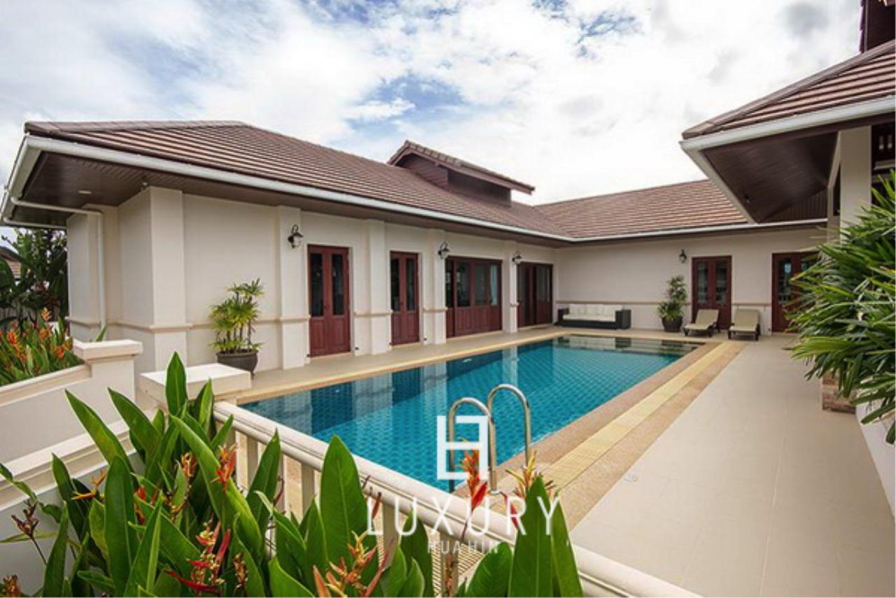 Luxury Hua Hin Property Agency's Bali Style 3 Bedroom Pool Villa 1