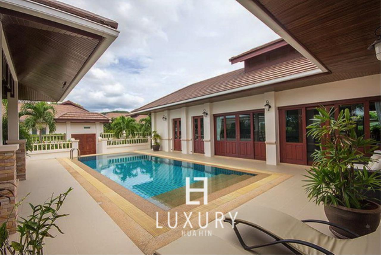 Luxury Hua Hin Property Agency's Bali Style 3 Bedroom Pool Villa 2