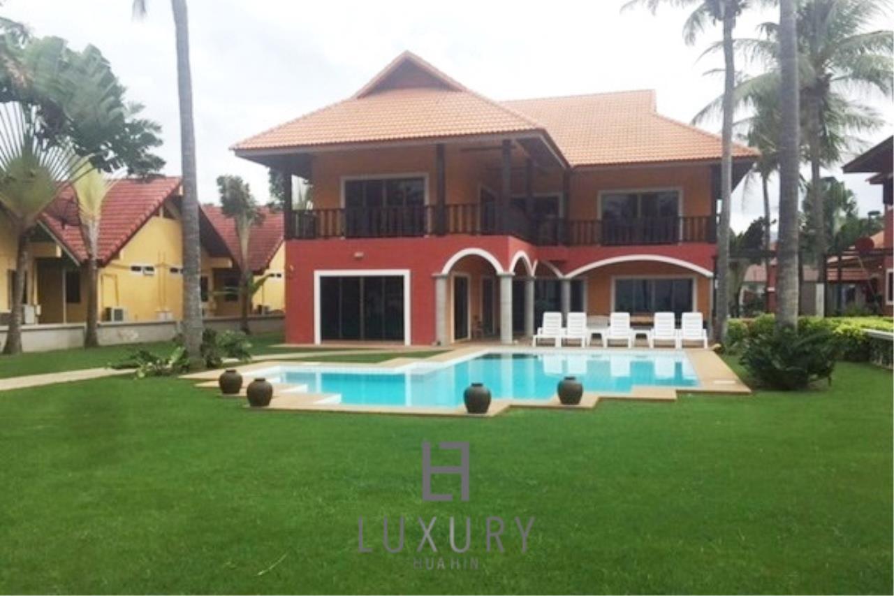 Luxury Hua Hin Property Agency's Beachfront 2 storey Villas on 2 Rai of Land 3