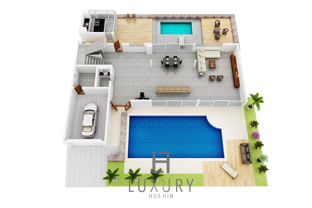 Luxury Hua Hin Property Agency's 4 Bedroom Beach Pool Villa In Cha Am  28