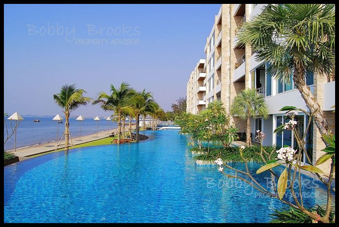 Bobby Brooks Property Agency's Exclusive Beachfront Condo 2 Bed 2 Bath for Sale North Pattaya (Naklua) 1