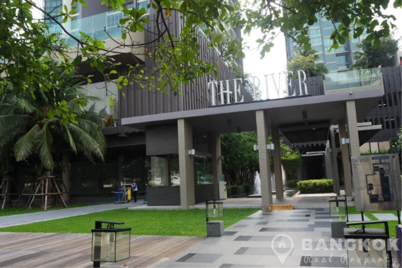 Bangkok Real Property Agency's The River Bangkok | Spacious Modern 1 Bed with River Views 7