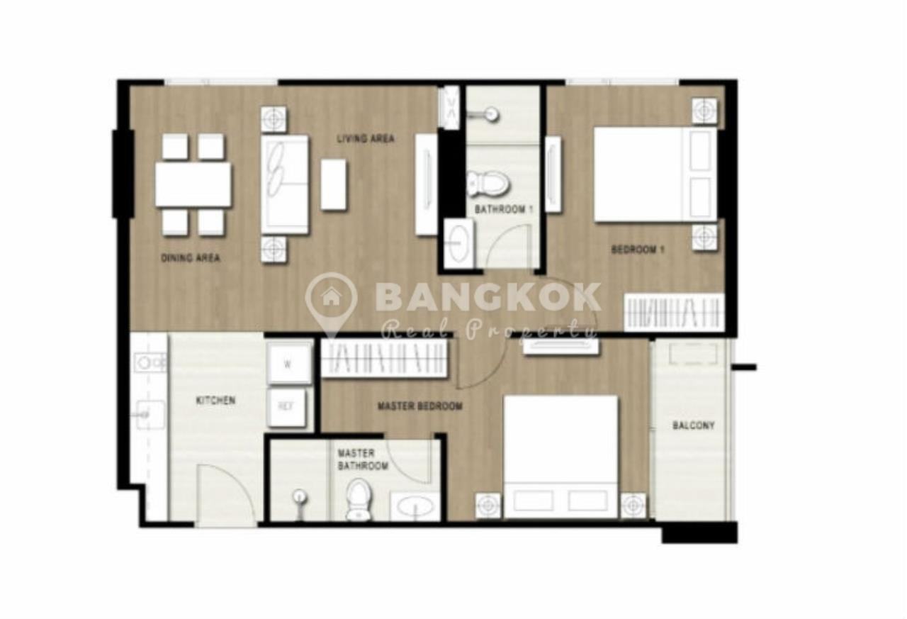 Bangkok Real Property Agency's Sari Sukhumvit 64 | Fabulous 2 Bed 2 Bath near BTS 8