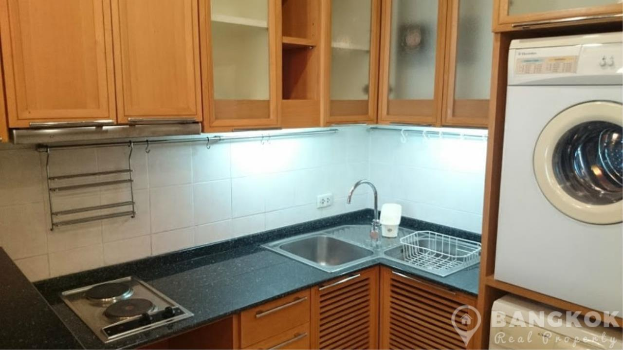Bangkok Real Property Agency's President Place Chidlom | Superb Very Spacious 1 Bed at BTS 8