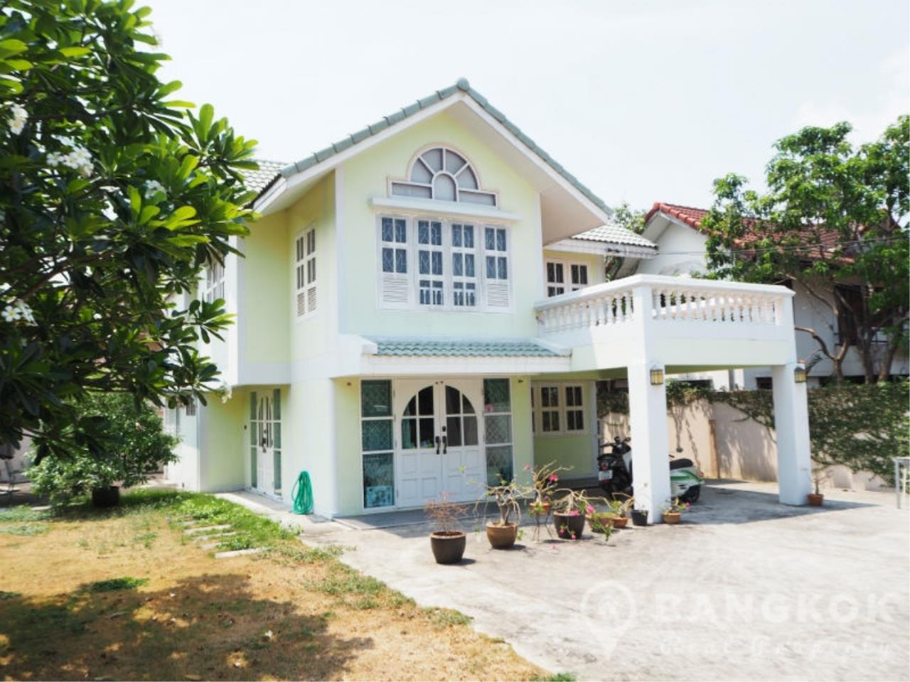 Bangkok Real Property Agency's Sammakorn Village | Detached Corner 3 Bed 3 Bath with Large Garden 1