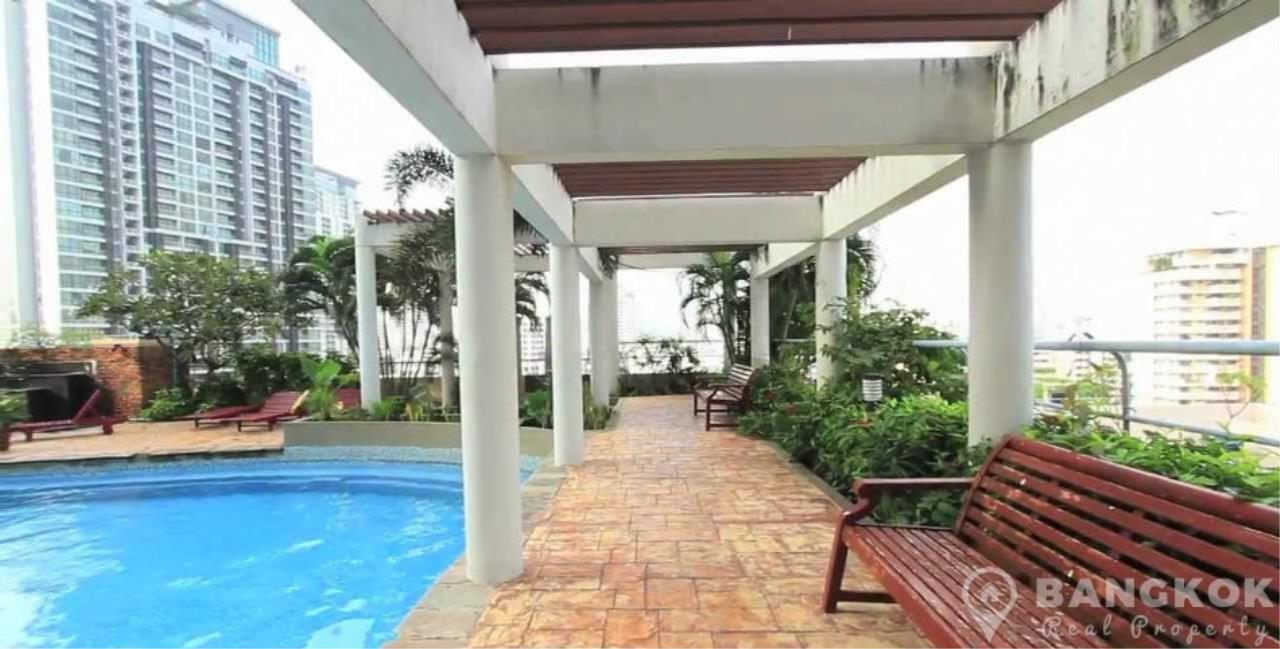 Bangkok Real Property Agency's The Waterford Diamond | Spacious Furnished 2 Bed 2 Bath near BTS 12