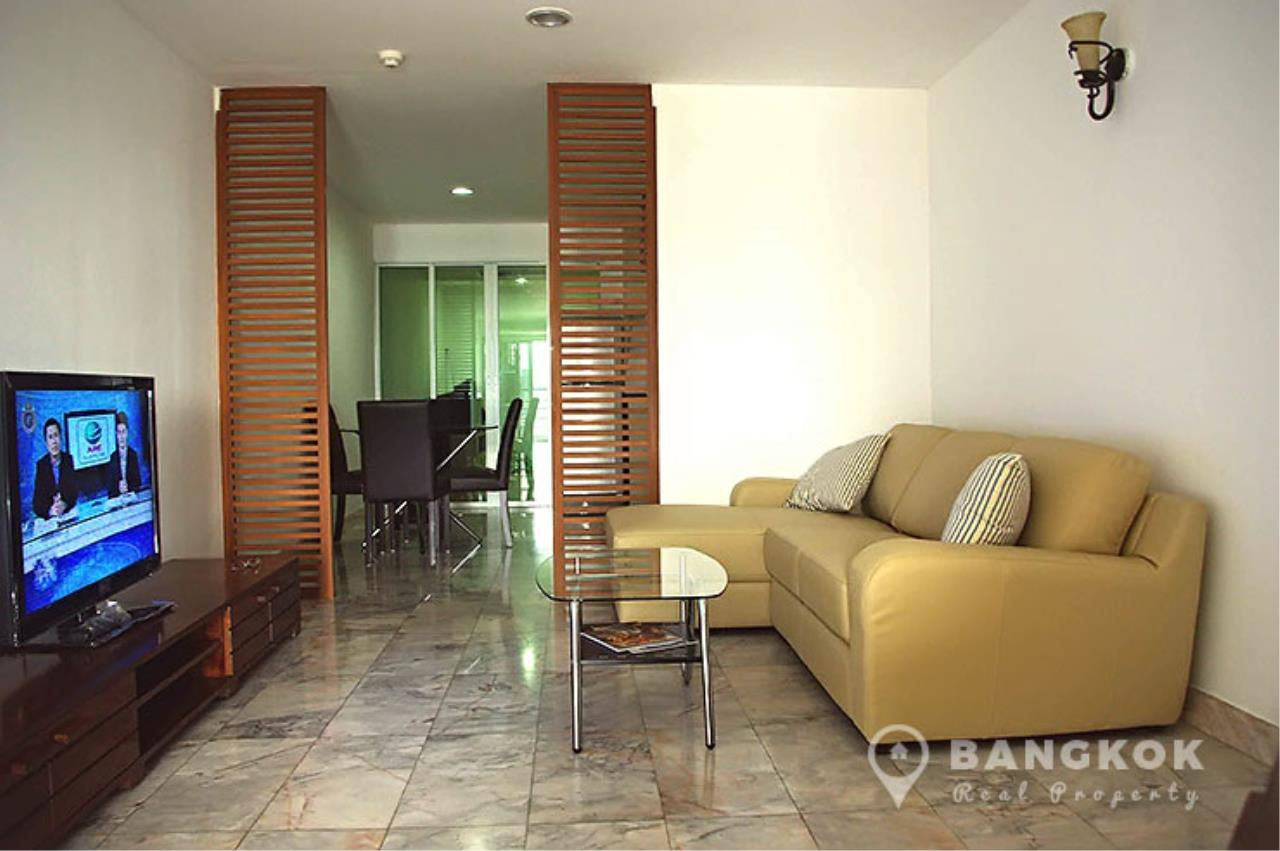 Bangkok Real Property Agency's The Waterford Diamond | Spacious Furnished 2 Bed 2 Bath near BTS 1