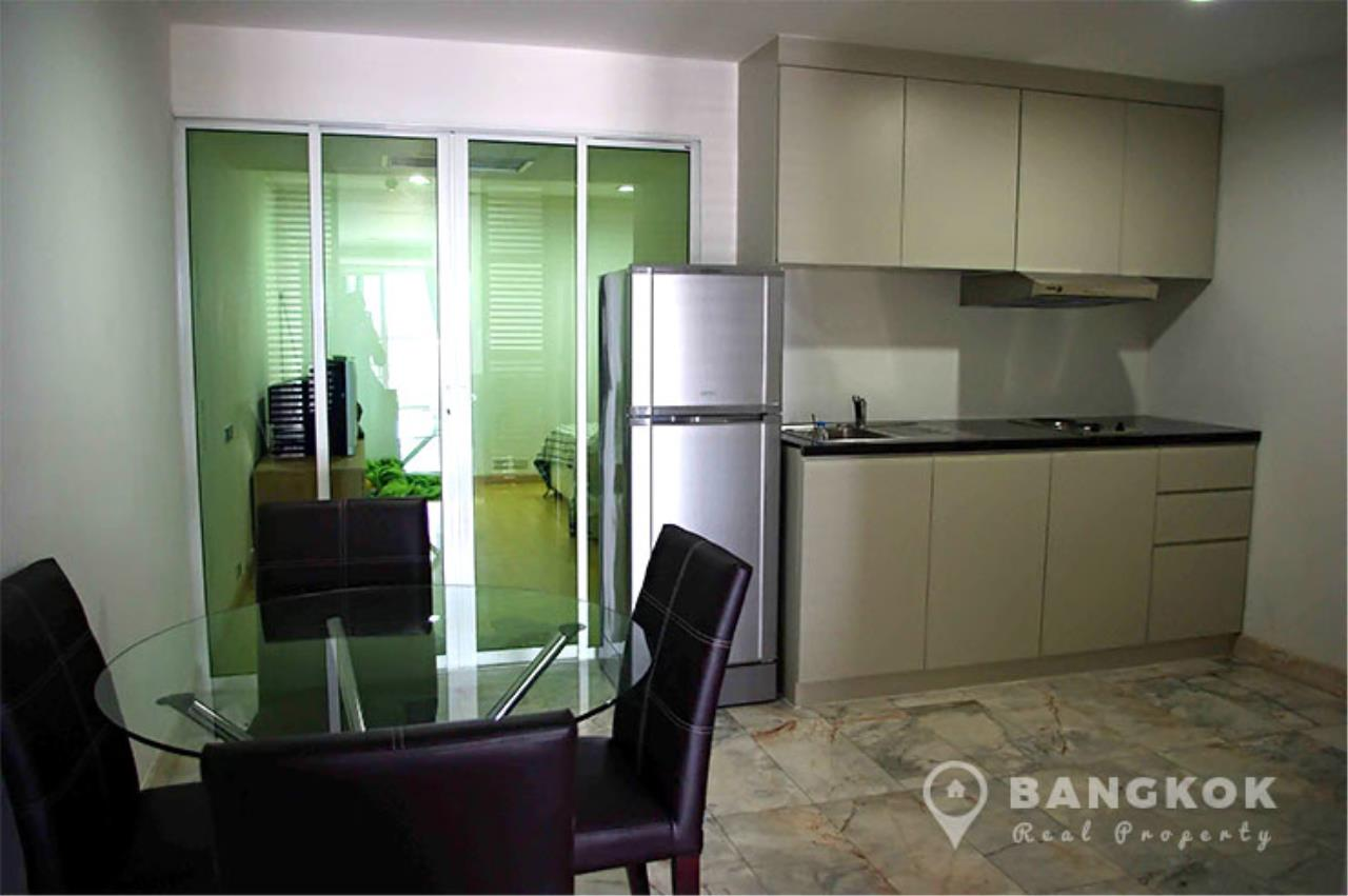 Bangkok Real Property Agency's The Waterford Diamond | Spacious Furnished 2 Bed 2 Bath near BTS 3