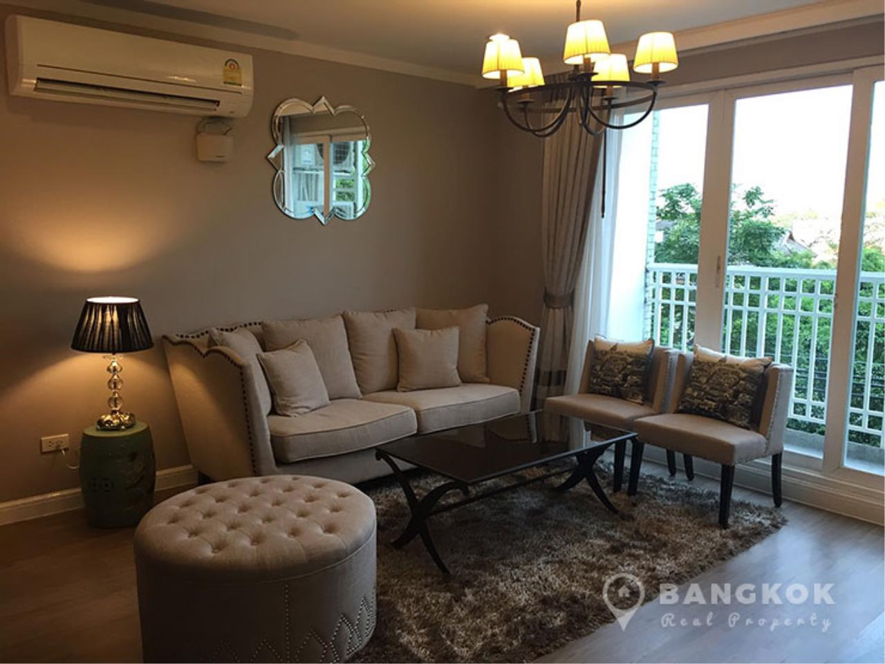 Bangkok Real Property Agency's Baan Siri Yenakard | Spacious Renovated 2 Bed 2 Bath near MRT  1