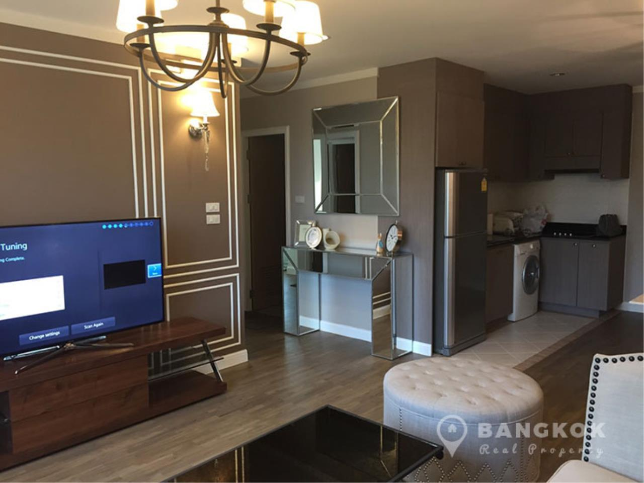 Bangkok Real Property Agency's Baan Siri Yenakard | Spacious Renovated 2 Bed 2 Bath near MRT  2