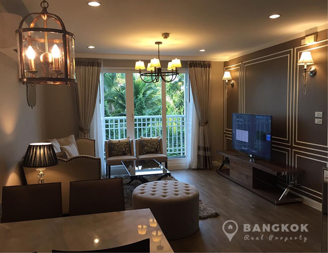 Bangkok Real Property Agency's Baan Siri Yenakard | Spacious Renovated 2 Bed 2 Bath near MRT  4