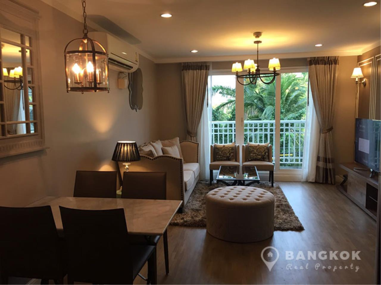 Bangkok Real Property Agency's Baan Siri Yenakard | Spacious Renovated 2 Bed 2 Bath near MRT  5