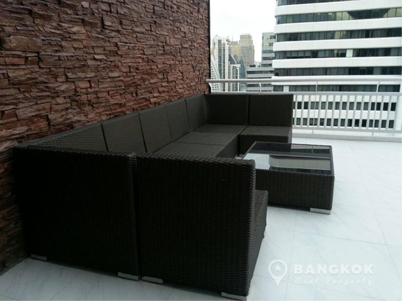 Bangkok Real Property Agency's Grand Parkview Asoke | Spacious 2 Bed 1 Bath Penthouse with Terrace 14