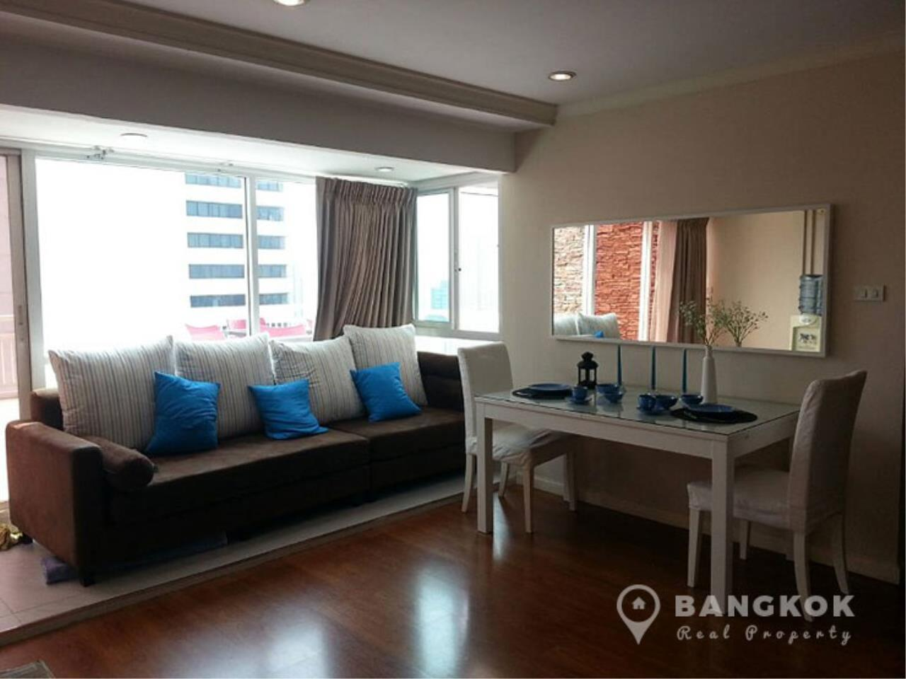Bangkok Real Property Agency's Grand Parkview Asoke | Spacious 2 Bed 1 Bath Penthouse with Terrace 5