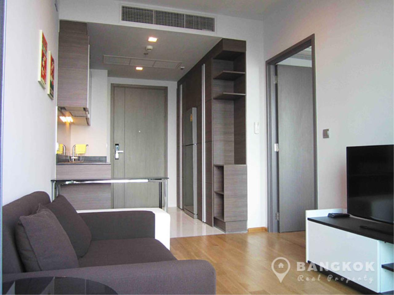 Bangkok Real Property Agency's Keyne by Sansiri | Modern High Floor 1 Bed near BTS 1