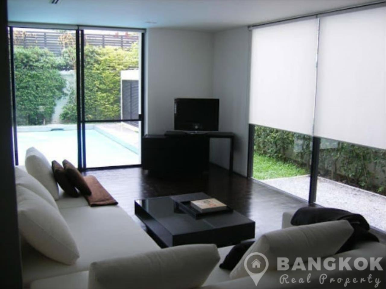 Bangkok Real Property Agency's Modern Detached 4 Bed Thonglor House with Private Pool 3