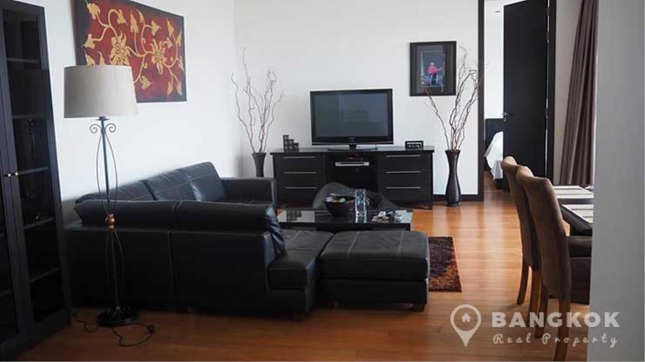 Bangkok Real Property Agency's The Lofts Yenakart | Bright Modern 2 Bed 2 Bath with Large Balcony 4