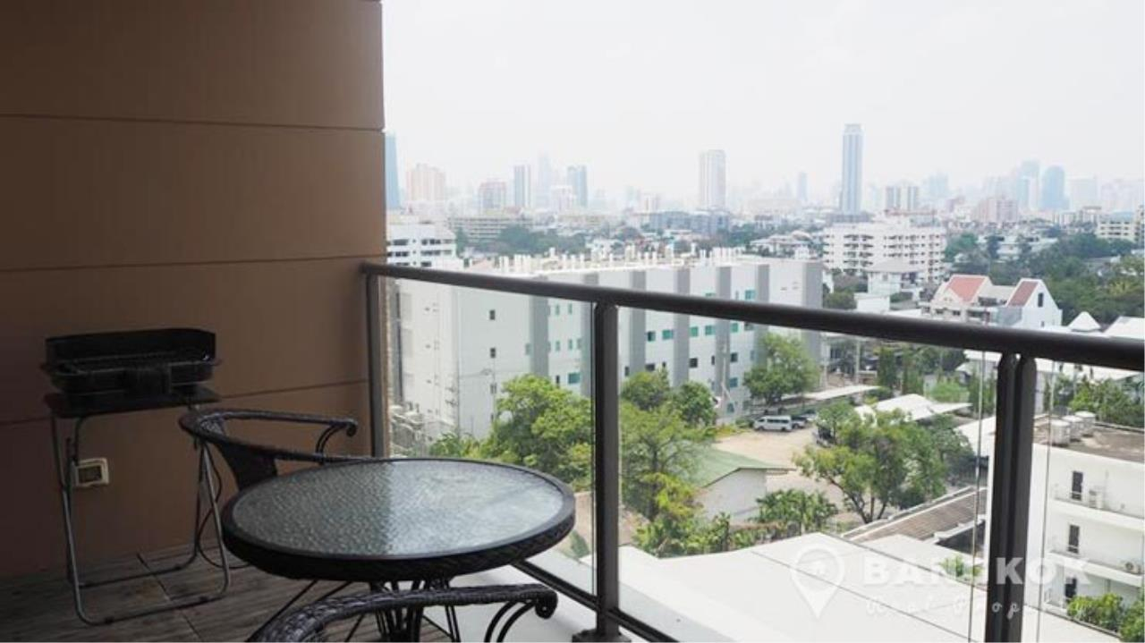 Bangkok Real Property Agency's The Lofts Yenakart | Bright Modern 2 Bed 2 Bath with Large Balcony 6