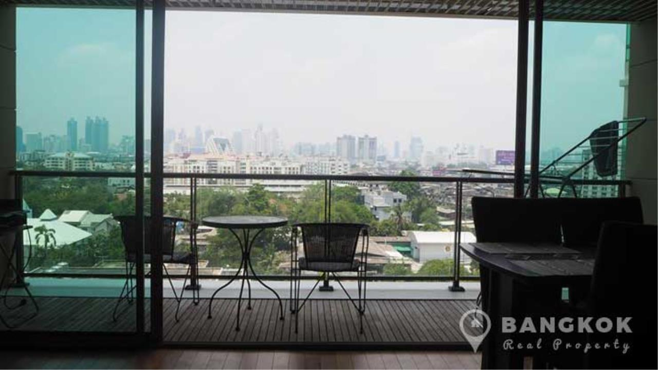 Bangkok Real Property Agency's The Lofts Yenakart | Bright Modern 2 Bed 2 Bath with Large Balcony 5