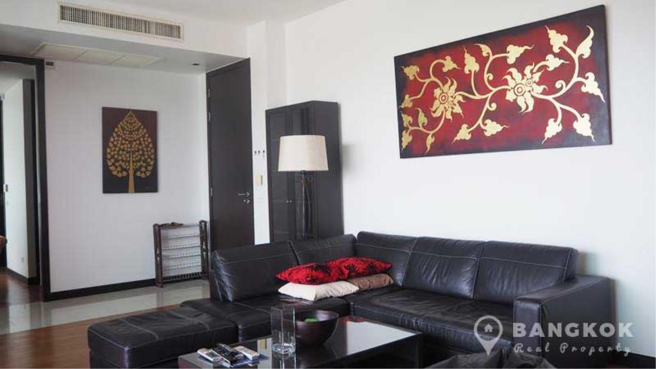 Bangkok Real Property Agency's The Lofts Yenakart | Bright Modern 2 Bed 2 Bath with Large Balcony 1
