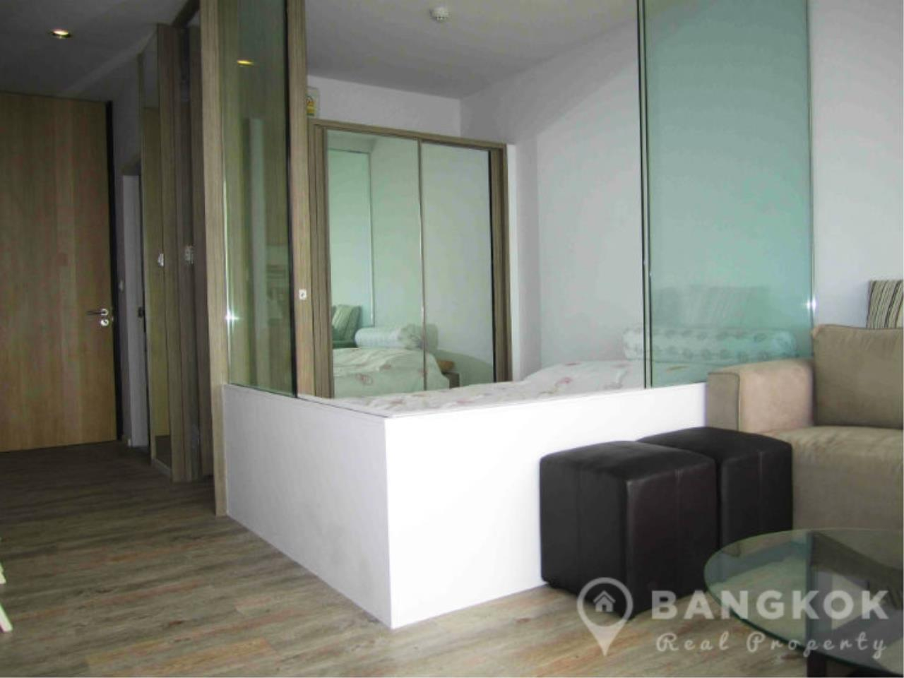 Bangkok Real Property Agency's Issara Ladprao | Stylish High Floor Studio with Stunning Views 2