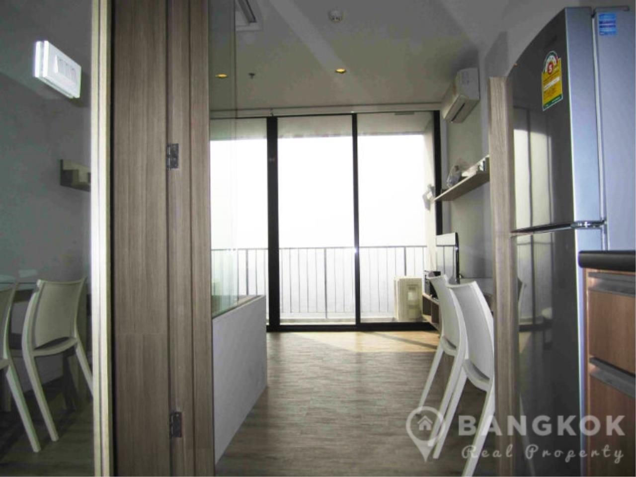 Bangkok Real Property Agency's Issara Ladprao | Stylish High Floor Studio with Stunning Views 8