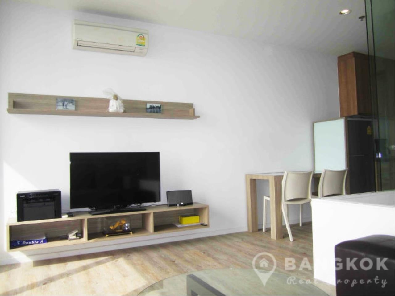 Bangkok Real Property Agency's Issara Ladprao | Stylish High Floor Studio with Stunning Views 9