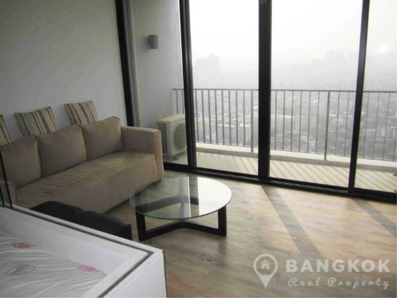 Bangkok Real Property Agency's Issara Ladprao | Stylish High Floor Studio with Stunning Views 10