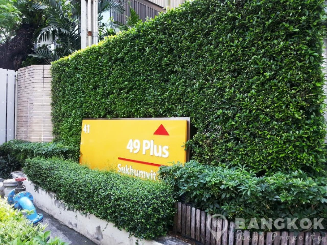 Bangkok Real Property Agency's 49 Plus | Spacious High Floor 1 Bed 1 Bath in Thonglor 14