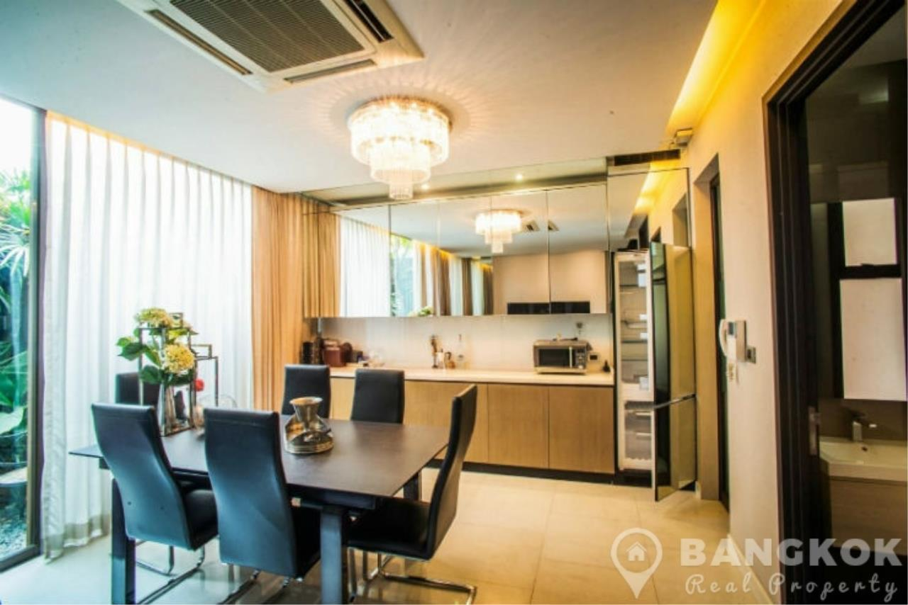 Bangkok Real Property Agency's Stunning Luxury 4 Bed 5 Bath Ekkamai Townhouse near BTS 10