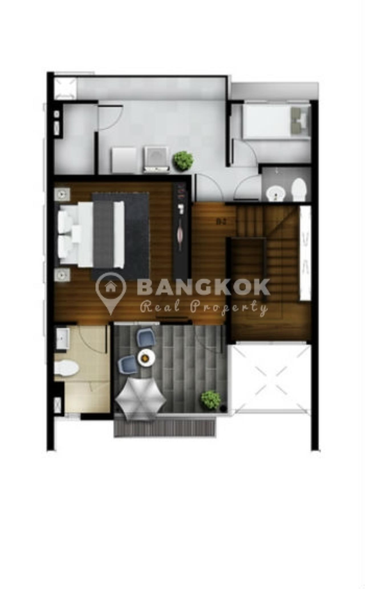 Bangkok Real Property Agency's Stunning Luxury 4 Bed 5 Bath Ekkamai Townhouse near BTS 6