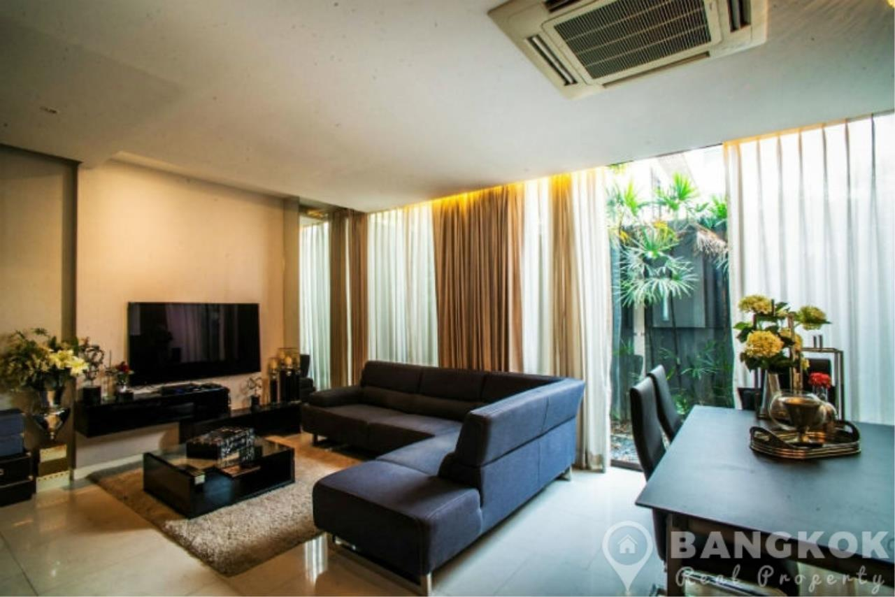 Bangkok Real Property Agency's Stunning Luxury 4 Bed 5 Bath Ekkamai Townhouse near BTS 9