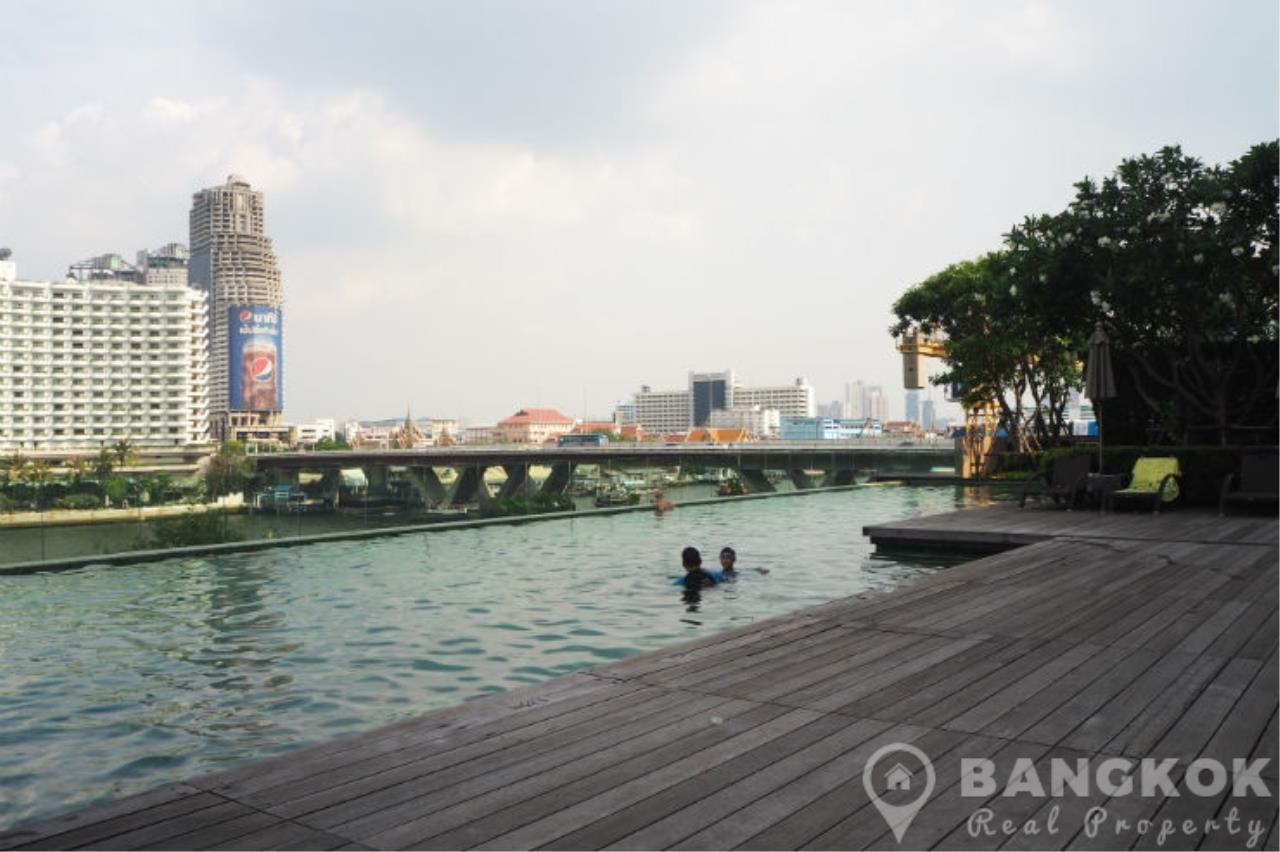 Bangkok Real Property Agency's The River Condominium   Stunning Duplex 1 Bed with Terrace 22