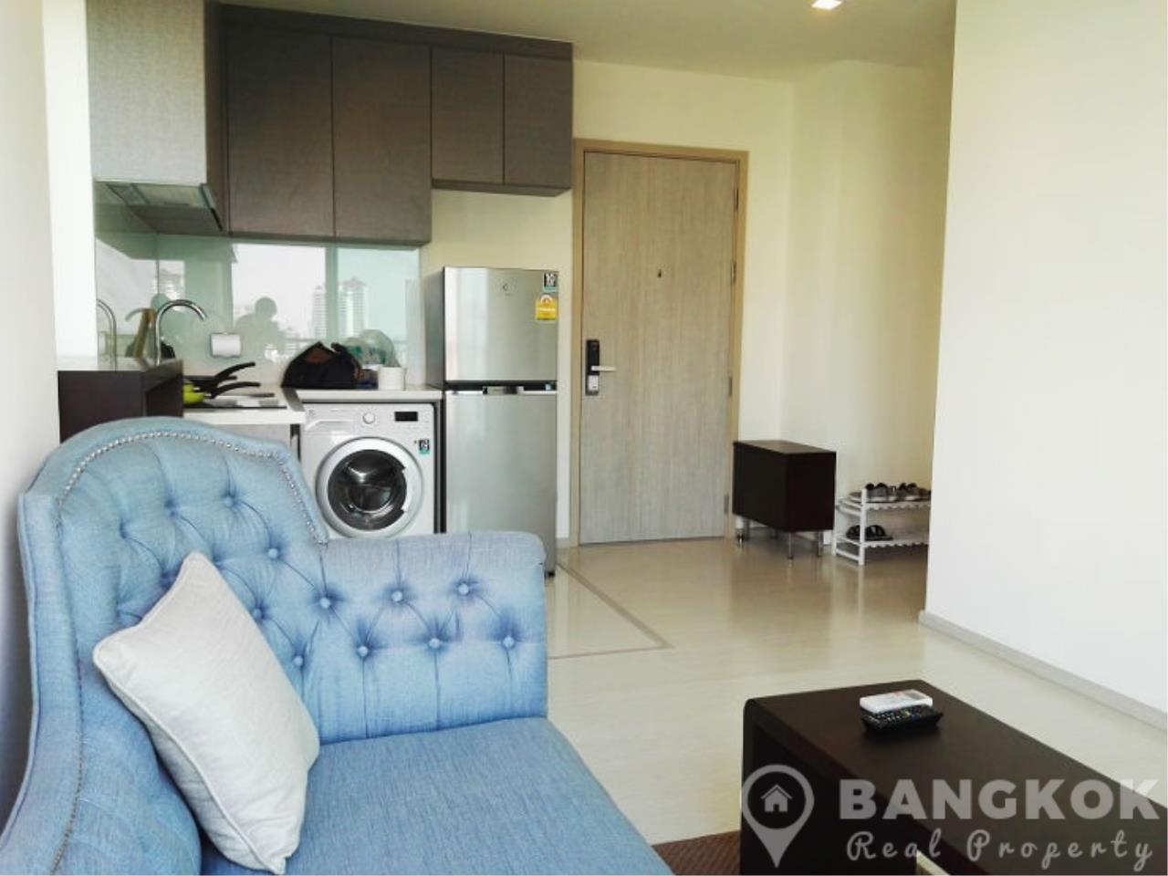 Bangkok Real Property Agency's Rhythm Sukhumvit 36-38 | Brand New Spacious 1 Bed near BTS 2