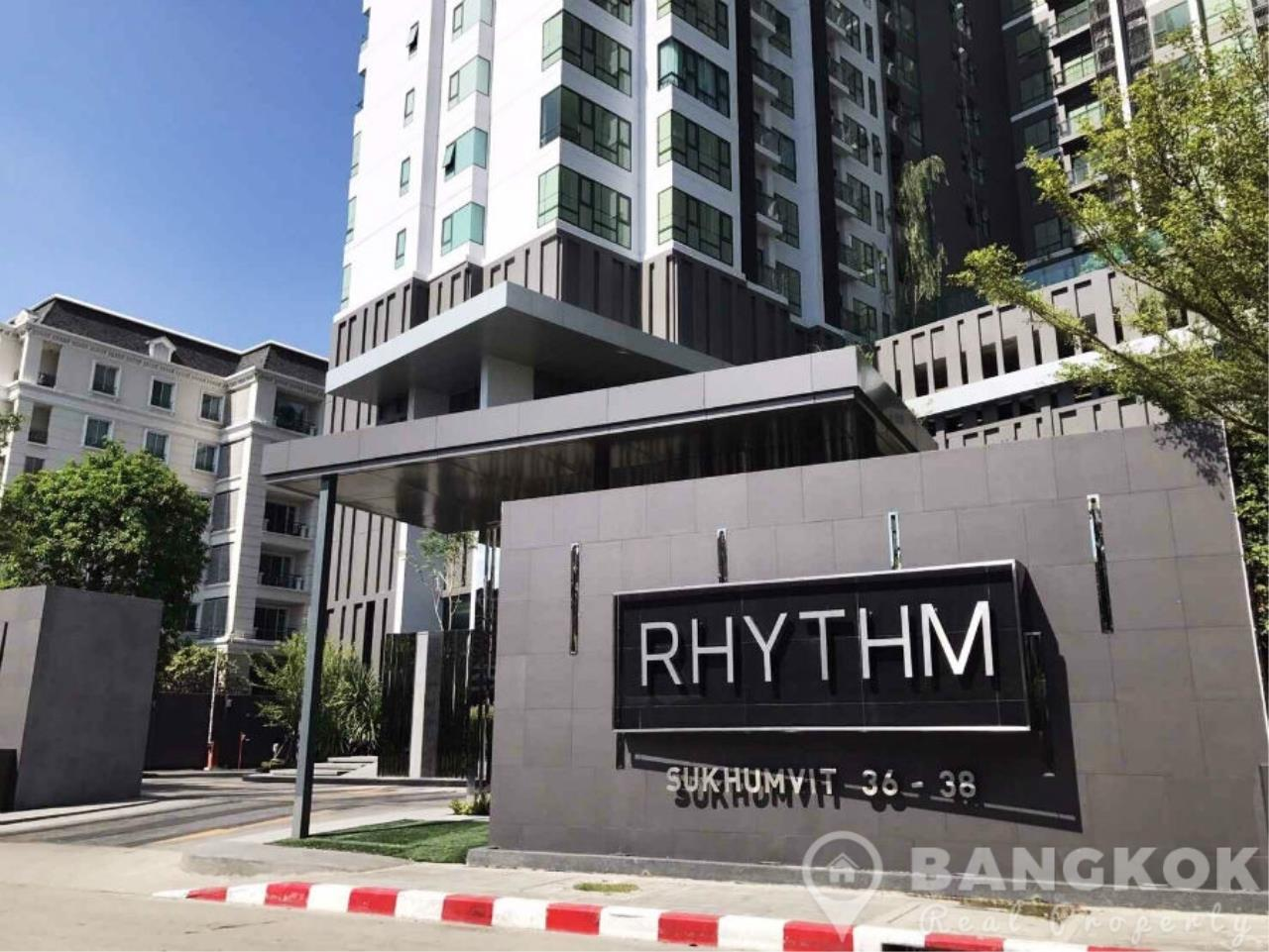Bangkok Real Property Agency's Rhythm Sukhumvit 36-38 | Brand New Spacious 1 Bed near BTS 7