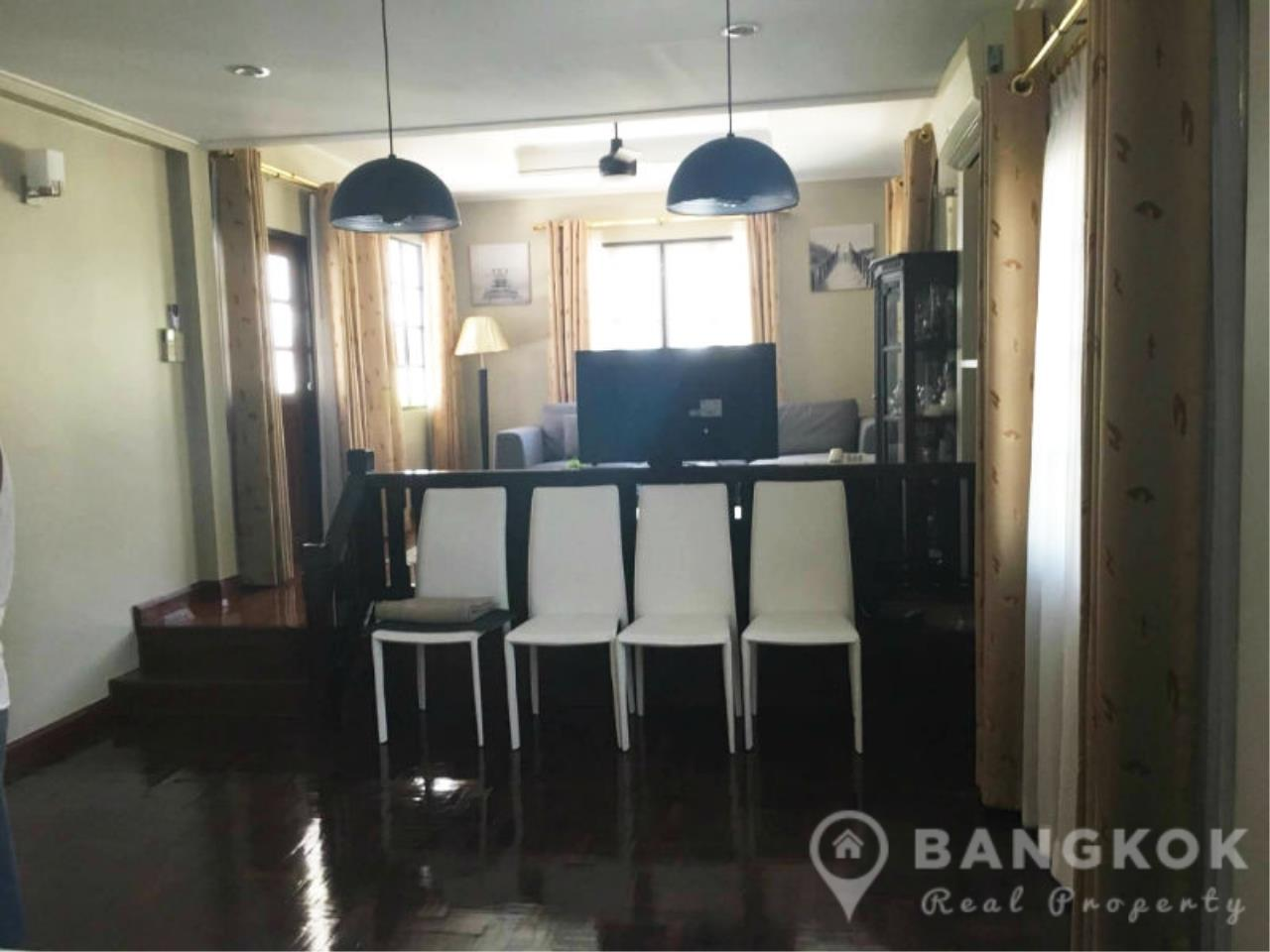 Bangkok Real Property Agency's Spacious Detached Thonglor House with 3 Beds 3 Baths 3