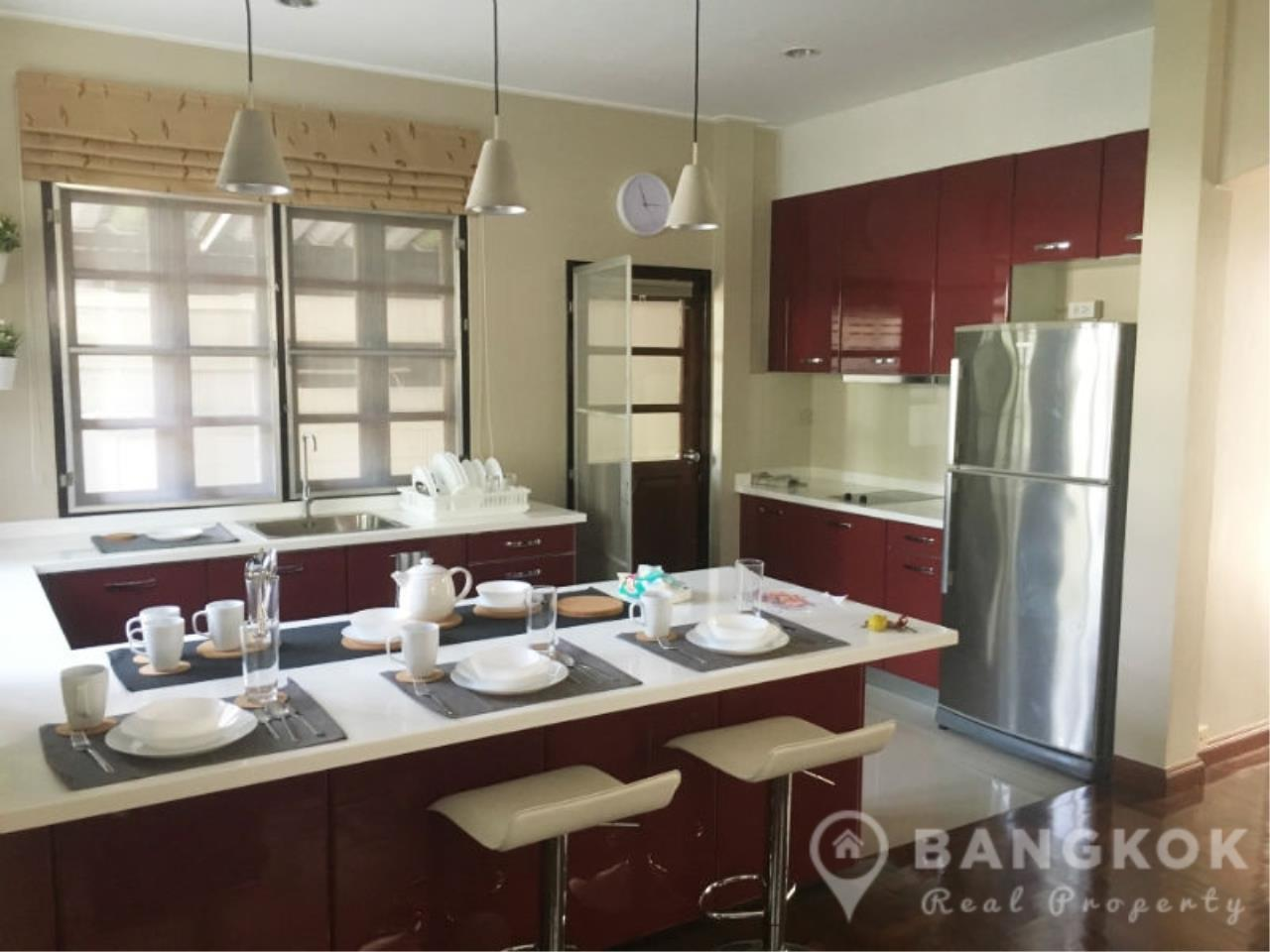 Bangkok Real Property Agency's Spacious Detached Thonglor House with 3 Beds 3 Baths 4
