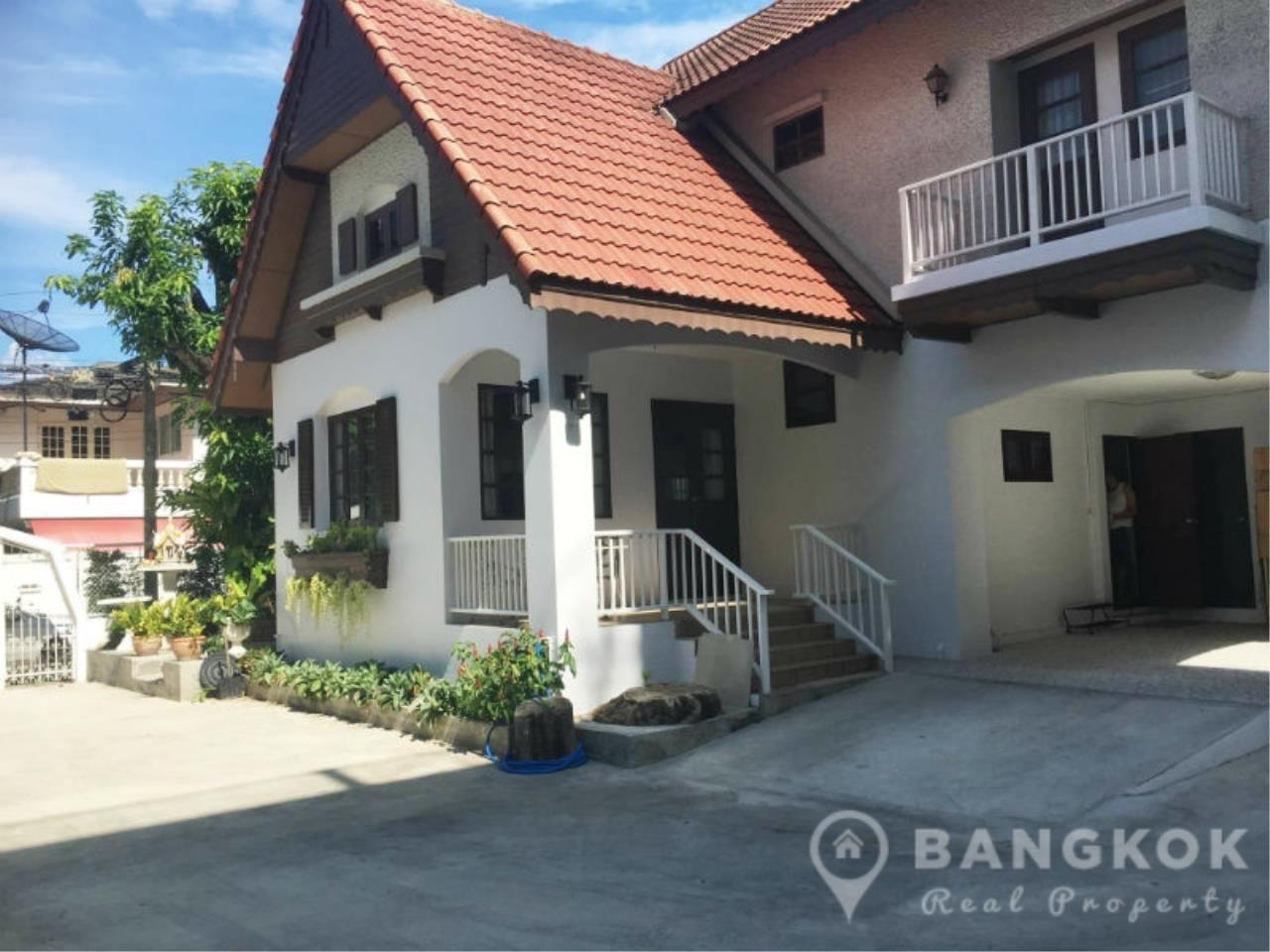 Bangkok Real Property Agency's Spacious Detached Thonglor House with 3 Beds 3 Baths 1