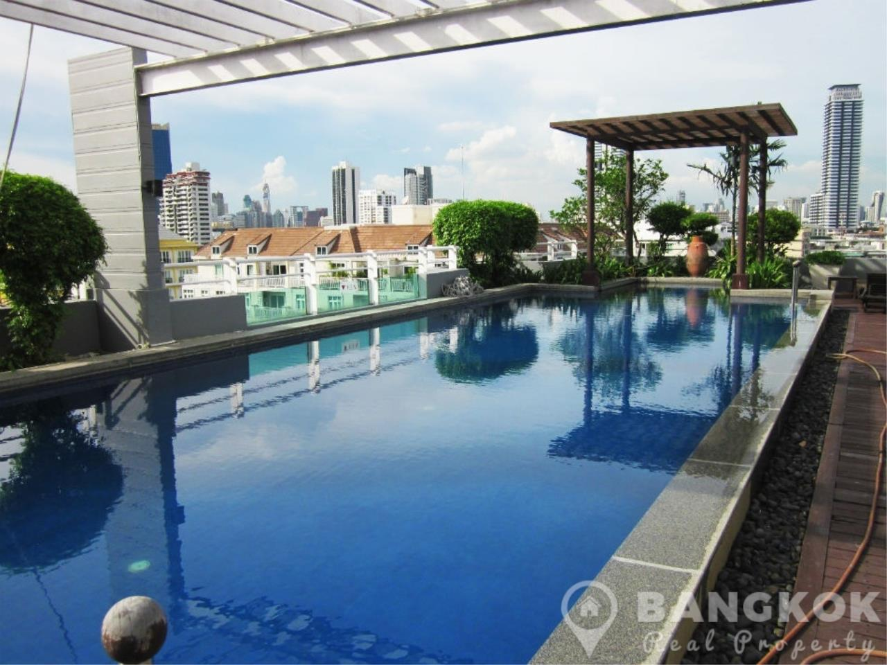 Bangkok Real Property Agency's Sathorn Plus By The Garden | Spacious High Floor 1 Bed 1 Bath 8