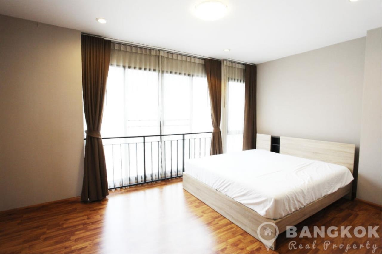 Bangkok Real Property Agency's Spacious 1st Rental 3 Bed 4 Bath Bangchak Townhouse near BTS 4