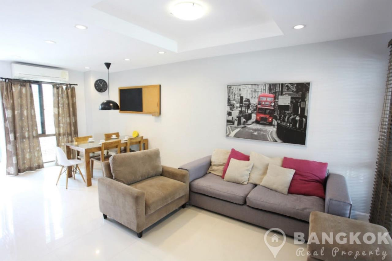 Bangkok Real Property Agency's Spacious 1st Rental 3 Bed 4 Bath Bangchak Townhouse near BTS 2