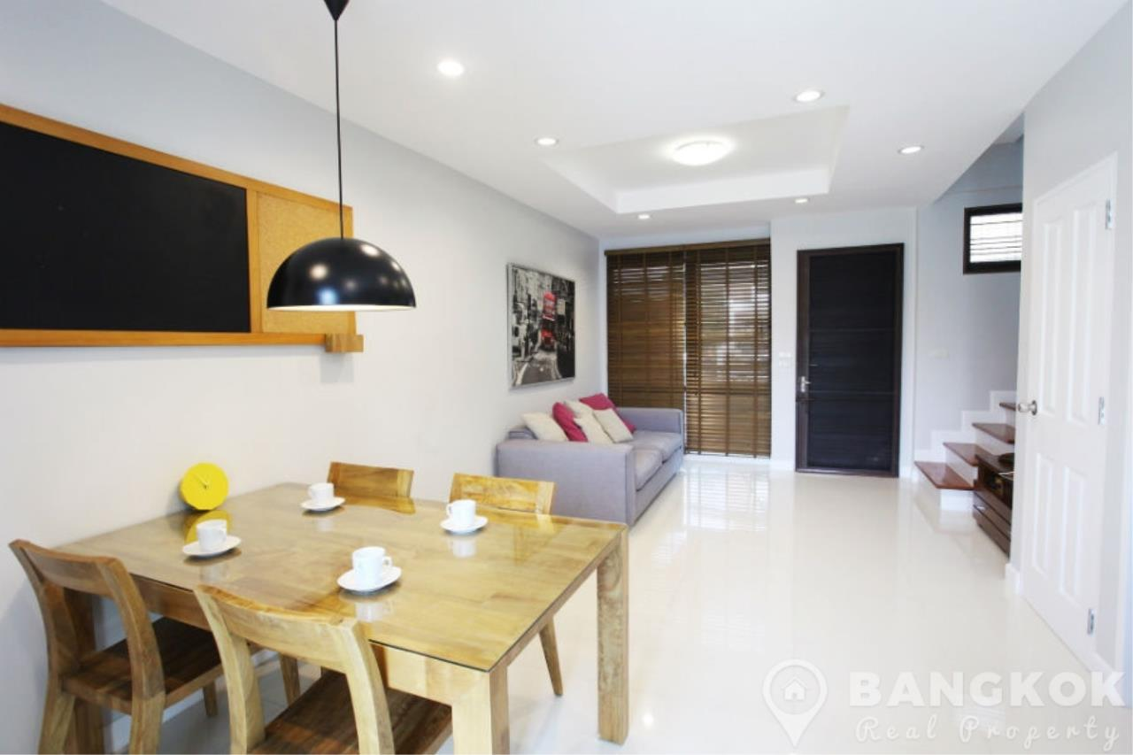 Bangkok Real Property Agency's Spacious 1st Rental 3 Bed 4 Bath Bangchak Townhouse near BTS 3