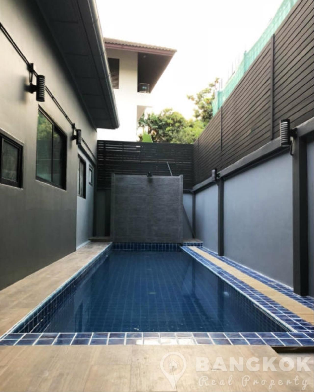 Bangkok Real Property Agency's Modern Detached House in Thonglor 4 Beds with Private Swimming Pool 2