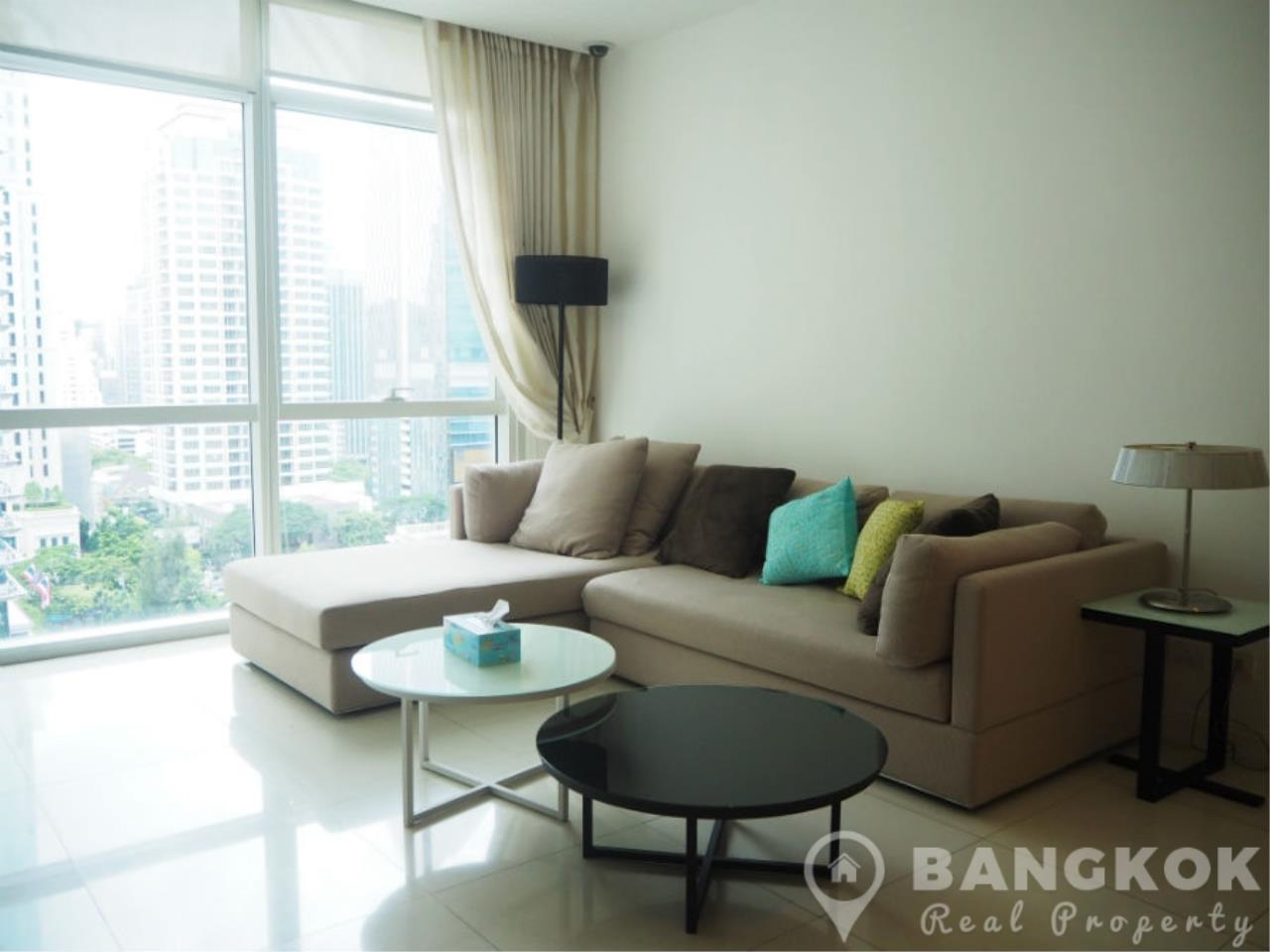 Bangkok Real Property Agency's Athenee Residence | Spacious Modern 2 Bed 2 Bath with Great City Views 1